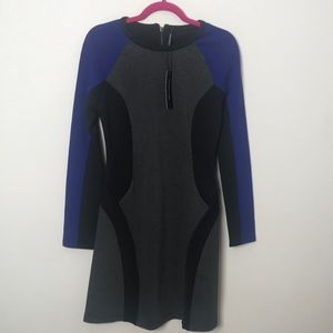 Walter baker net view scuba dress sz 4